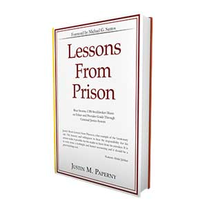 Yes, Justin please send me a free copy of Lessons From Prison NOW.