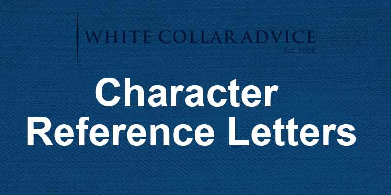 Character Reference Letters