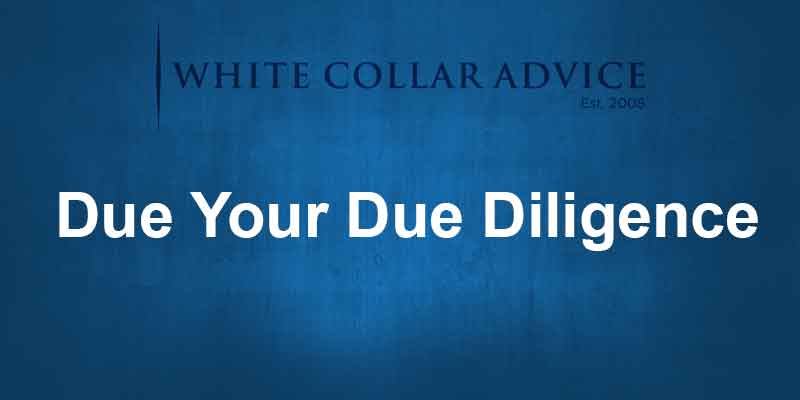 Due Your Due Diligence